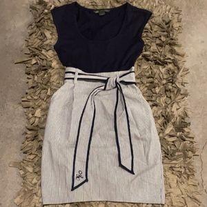A/X Armani Exchange mini dress sz 0